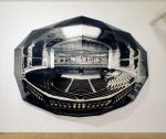 1988, 240 x 360 x 120 cm, impressions argentiques sur bois