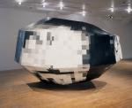 1990, 240 x 240 x 270 cm, tirage argentique sur papier baryté, aluminium, composé bois-aluminium